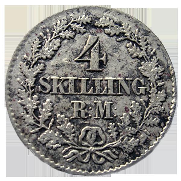 Danske mynter 1813-1874