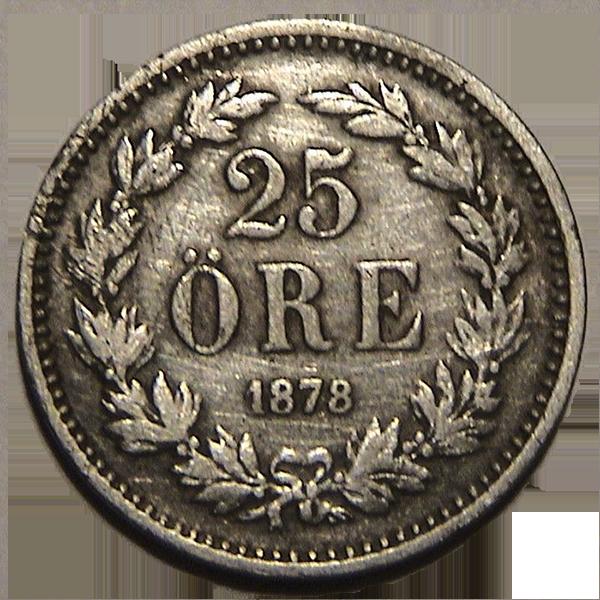 Svenske mynter 1874-d.d.