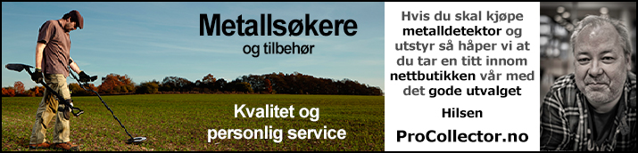 Metallsøker - metalldetektor - ProCollector.no